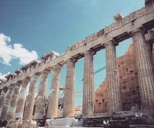 acropolis, aesthetic, and amazing image