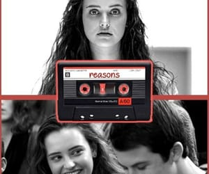 13, cassette, and 13 reasons why image