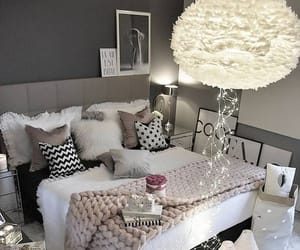 bedroom, decoration, and interior image