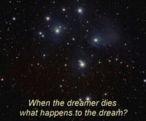 Dream, stars, and quotes image