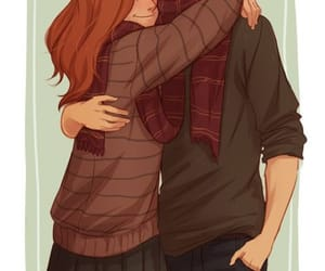 harry potter, ginny weasley, and fanart image