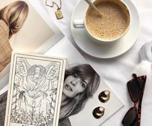 coffee, fashion, and magazine image