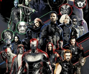 Avengers, infinity war, and black panther image