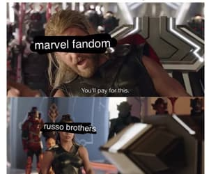 Marvel, the avengers, and infinity war image