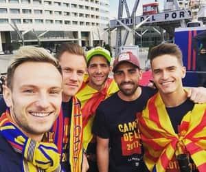 Barcelona, rakitic, and ter stegen image