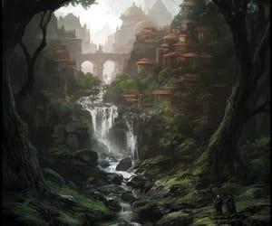 fantasy, art, and landscape image