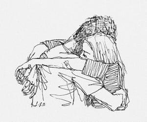 love, art, and hug image