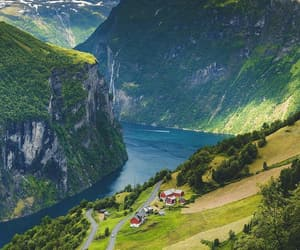 beautiful, glacier, and norway image