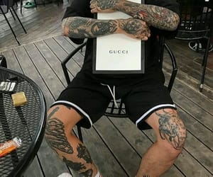 gucci and tattoo image