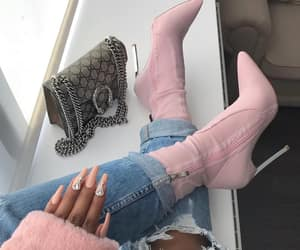 high heels, shoes boots, and nails goals image