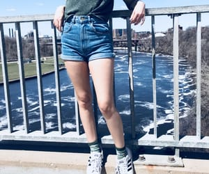 adidas, denim, and indie image