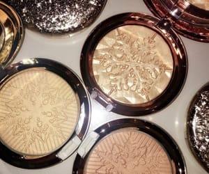 beauty, gild, and makeup image