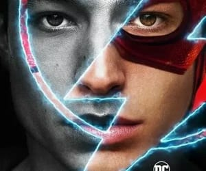 DC, justice league, and póster image