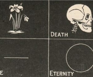 death, life, and eternity image