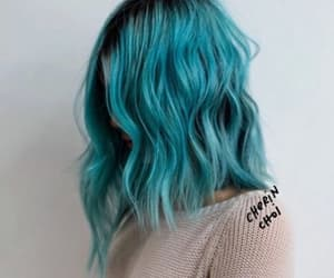 blue, fashion, and bluehair image