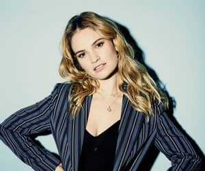 entertainment weekly, lily james, and erik tanner image