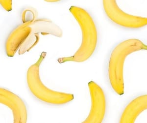 banana, background, and fruit image
