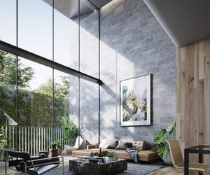 home, living room, and windows image