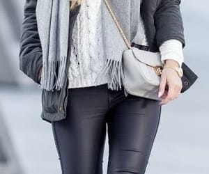 blonde, chic, and pants image