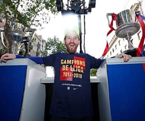 Barcelona, lionel messi, and campeones image