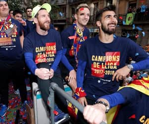 Barcelona, campeones, and messi image