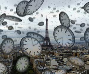 paris, clocks, and time image