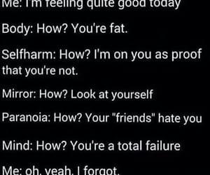 alone, failure, and fat image