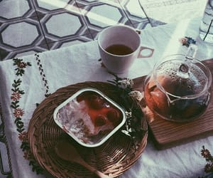 aesthetic, food, and tea image