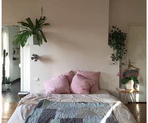 bed, light, and home image