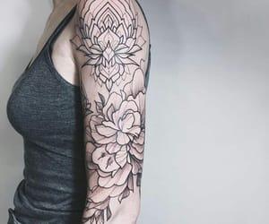 art, beautiful, and body art image