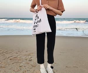beach, clothes, and korean girl image