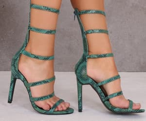 green, 🌵, and heels image