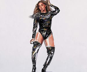 art, beyonce knowles, and coachella image