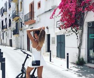 bike, ibiza, and summer image