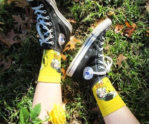 aesthetic, nature, and sneakers image