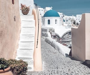 aesthetic, church, and santorini image