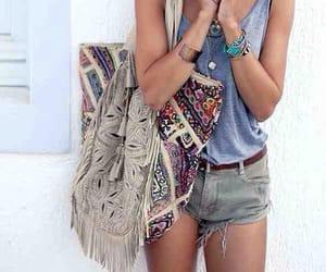 fashion, street style, and boho style image