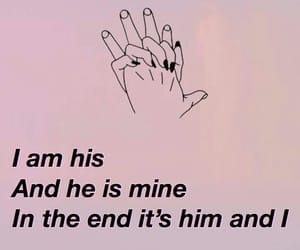 lyric, song, and halsey image
