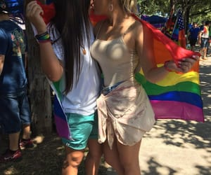 femme, gay, and gay pride image