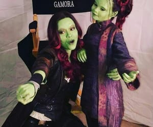 gamora, Marvel, and infinity war image