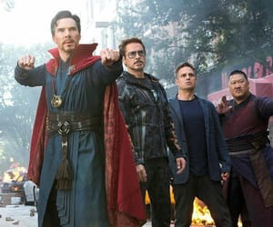 Marvel, iron man, and infinity war image