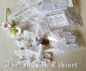 healing crystals, witchcraft supply, and witchcraft crystals image
