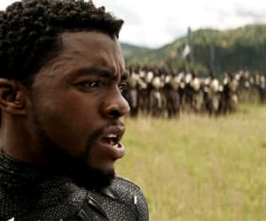 Avengers, black panther, and gif image