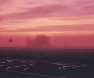 dusk, night, and pink image