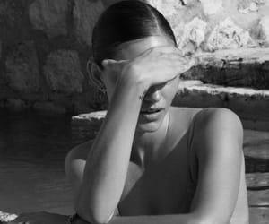 phoebe tonkin, black and white, and summer image