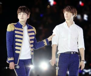boys, ryeowook, and donghae image