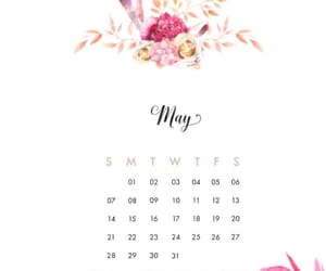 calendar, wallpaper, and may image