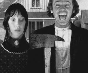 american gothic, jack nicholson, and shelley duvall image