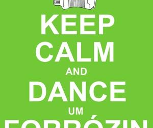 dance, keep calm, and sanfona image