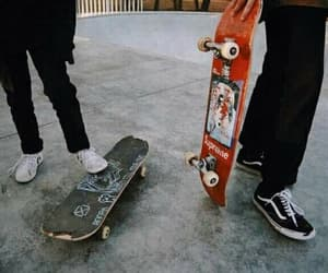 skateboard, grunge, and alternative image